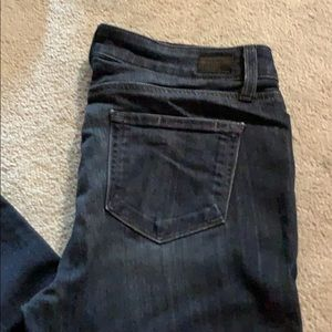 Paige skinny ankle peg jeans. Size 29